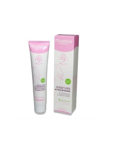 Mustela 9 meses Antiestrías Acción Intensiva Post-Parto, 75ml