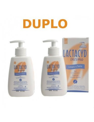 Lactacyd Intimo Duplo Gel Suave, 2x200ml
