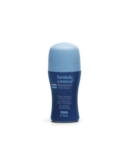 Isdin Lambda Desodorante Antitranspirante Roll-on Emulsión, 50ml