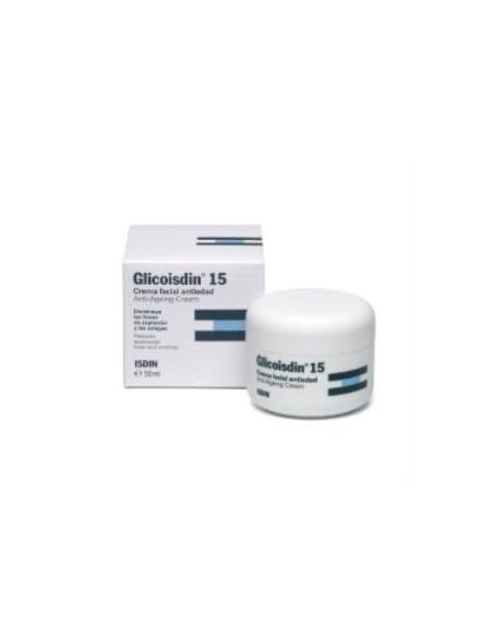 Isdin Glicoisdin 15% Glicolico Crema Facial Antiedad, 50ml