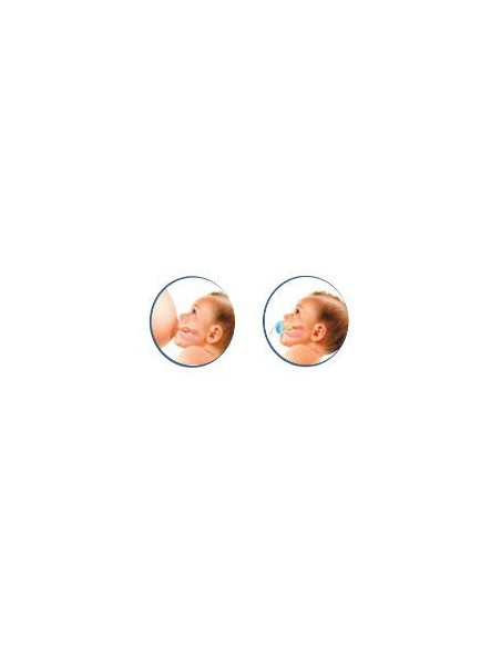 Nuk Biberon Baby Rose Latex T-1 M  0-6m, 150ml