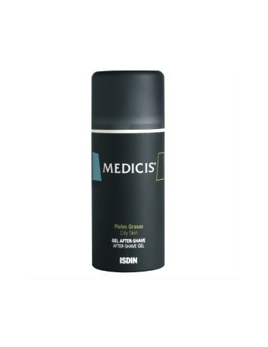 Isdin Medicis After Shave Gel Especial Piel Grasa, 100ml