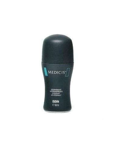 Isdin Medicis Desodorante Antitranspirante Roll-On, 50ml