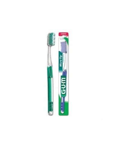 Gum Cepillo Dental Adulto Medio Microtip Suave