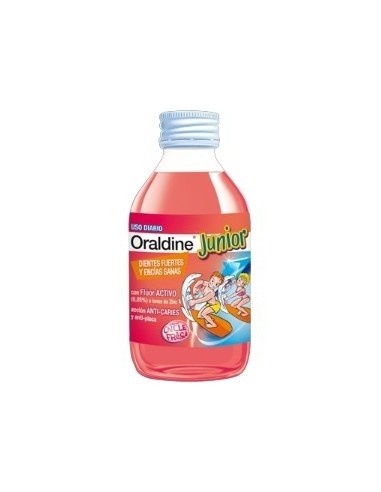 Oraldine Junior Enjuague Bucal, 400ml