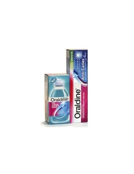 Oraldine Pack Colutorio 200ml + Pasta Dental 75ml