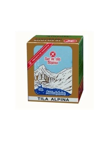 Milvus Tila Alpina Flor, 10 Bolsitas