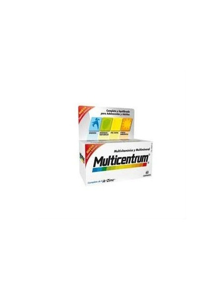 Multicentrum con Luteína, 60 Comprimidos