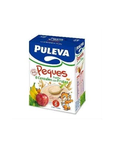 Puleva Peques Papilla 8 Cereales con Frutas, 600g