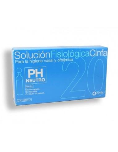 Cinfa Solución Fisiológica Unidosis 5ml, 20Ud