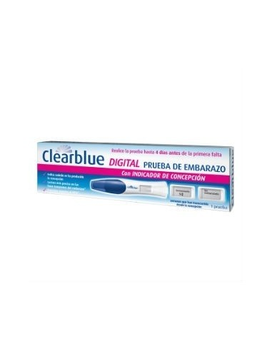 Clearblue Test de Embarazo digital, 1Ud