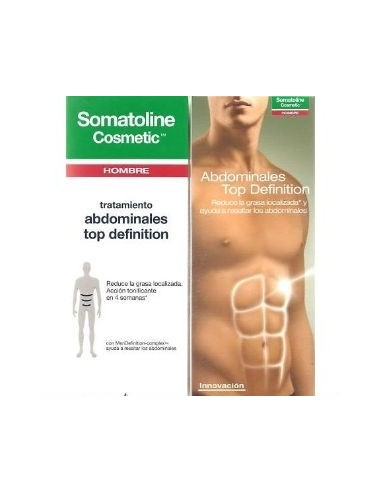 Somatoline Cosmetic Hombre Abdominales Top Definition, 200ml
