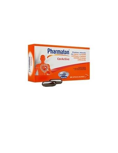 Pharmaton Coractive Cápsulas blandas, 30 Caps