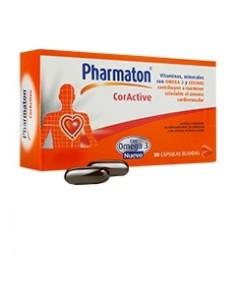 Pharmaton Coractive Cápsulas blandas, 60 Caps