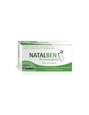 Natalben Preconceptivo, 30 Cápsulas