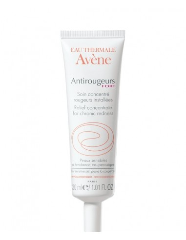 Avene Antirougeurs Fort Cuidado concentrado Rojeces localizadas, 30ml
