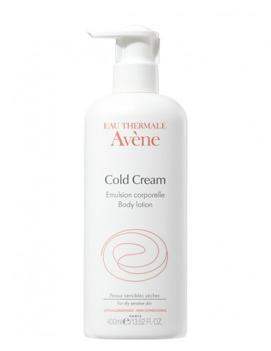 Avene Emulsión Corporal Cold Cream, 400ml