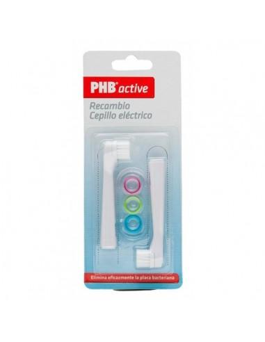 PHB Active Recambio Cepillo Eléctrico, 2ud