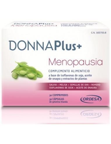 DonnaPlus+ Menopausia, 30 Capsulas + 30 Comprimidos