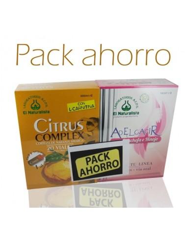 Pack Citrus Complex, 20 Viales +Adelgacir, 20 Viales