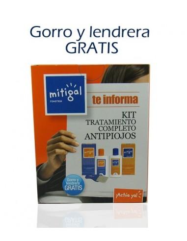 Mitigal Kit Tratamiento completo Antipiojos