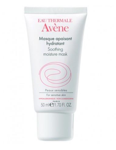 Avene Mascarilla Facial Calmante e Hidratante, 50ml