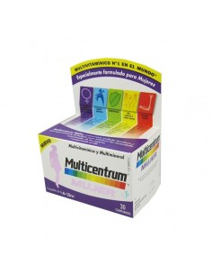 Multicentrum Mujer Multivitamínico y Multimineral, 30 Comprimidos