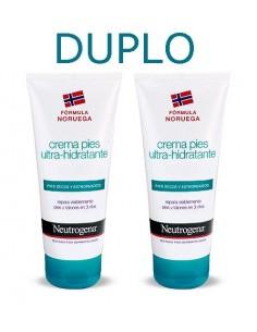 Neutrogena DUPLO Crema Pies Ultra-hidratante, 2x 100ml