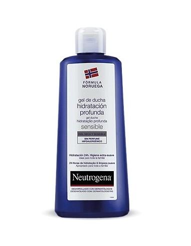 Neutrogena Fórmula Noruega Gel de Ducha Hidratación Profunda Piel Seca y Sensible, 750ml