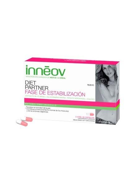 Innéov Diet Partner Fase 3 de Estabilización, 60 Cápsulas