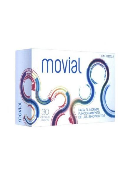 Movial Articulaciones Complemento Alimenticio, 30 caps