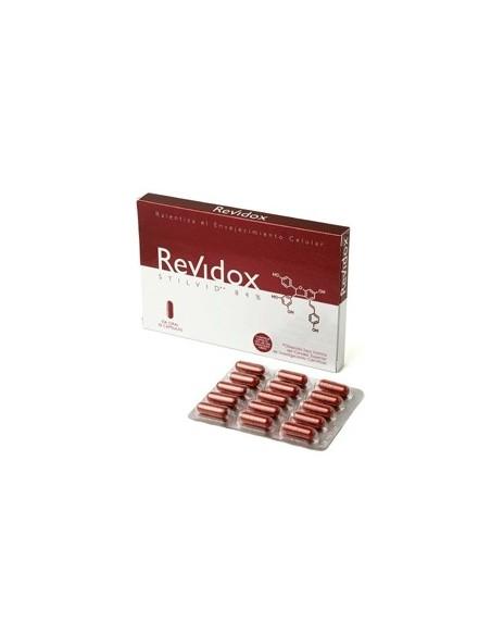 Revidox Stilvid Antioxidante cápsulas antienvejecimiento, 30caps