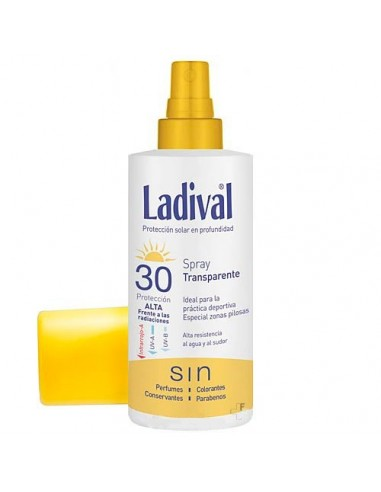 Ladival Fotoprotector Spray Transparente SPF30, 150ml