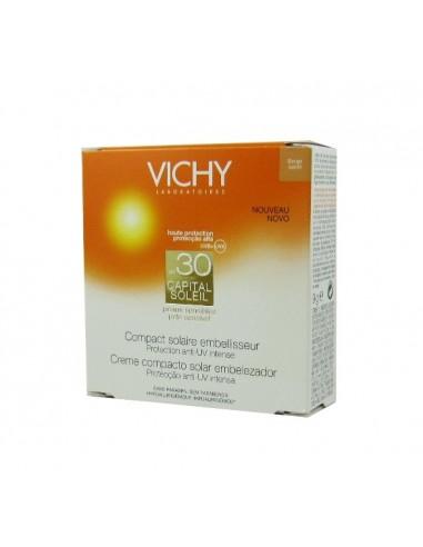 Vichy Capital Soleil SPF30 Compacto Solar Beige Arena, 9g