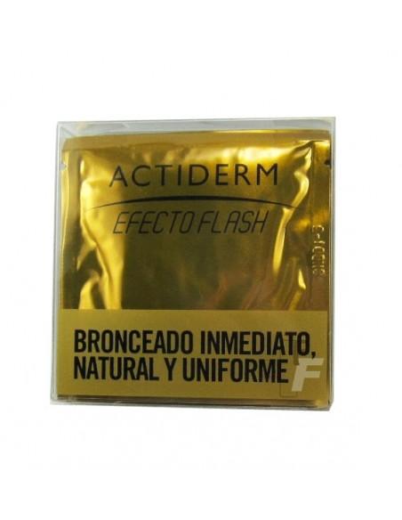 Actafarma Actiderm Toallitas Auto Bronceadoras Efecto Flash, 5Ud