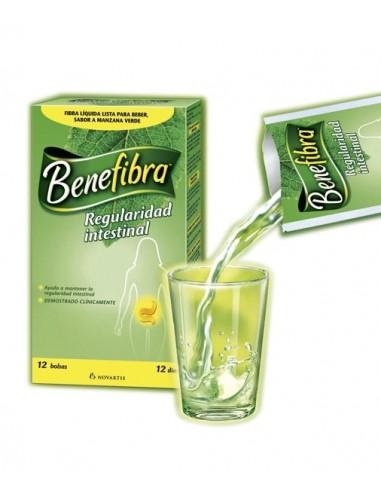Novartis Benefibra Fibra Soluble Liquido, 12 Sobres
