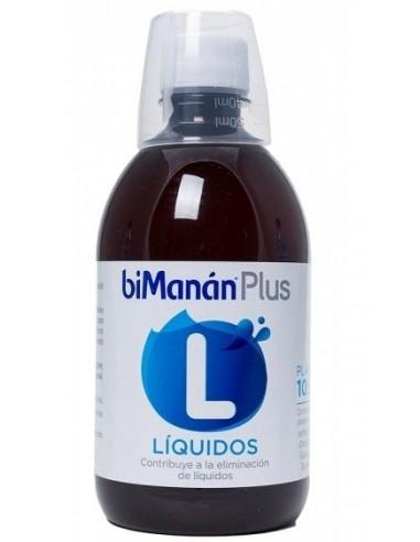 BiManan Plus L Eliminación de Líquidos, 500ml