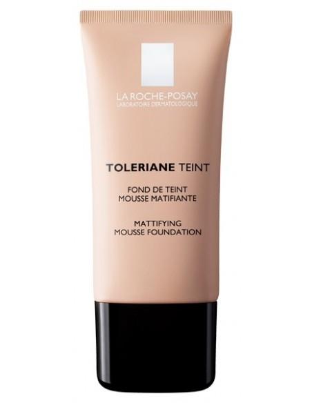 La Roche Posay Toleriane Teint Fondo de Maquillaje Mousse Num 02, 30ml