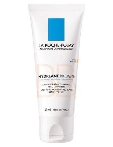 La Roche Posay Hydreane BB , 40ml + Regalo Agua Termal, 50ml + Hydreane BB Cream, 15ml