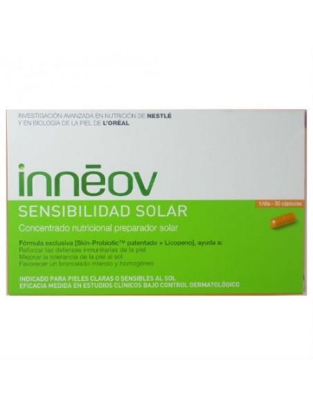 Innéov Sensibilidad Solar, 30caps