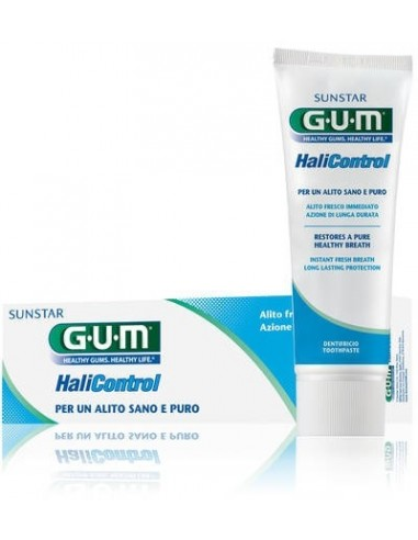Gum HaliControl Gel Dentífrico, 75ml
