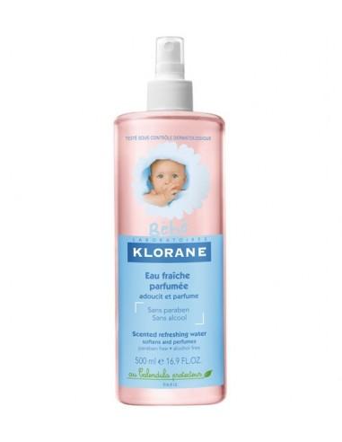 Klorane Bebé Agua de Colonia Refrescante, 500ml