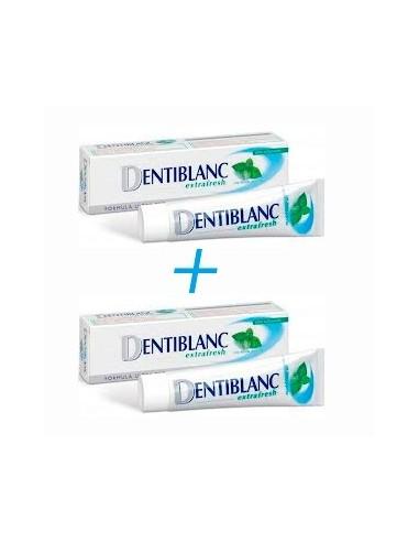 Dentiblanc DUPLO Extrafresh 2x 100ml + REGALO colutorio extrafresh 100ml