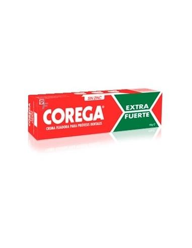 Corega Ultra Crema Extra Fuerte Adhesivo Prótesis Dental, 75ml