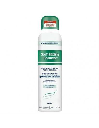 Somatoline Cosmetic Desodorante Pieles Sensibles Spray, 150ml