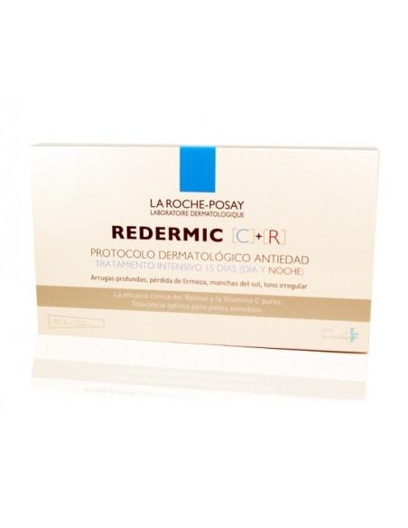 La Roche Posay Redermic Protocolo Dermatológico Antiedad, C + R, 30ml