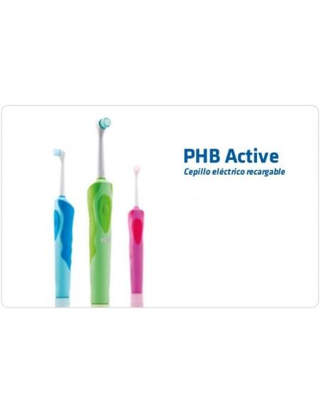 PHB Cepillo Eléctrico Active Recargable Azul, 1Ud