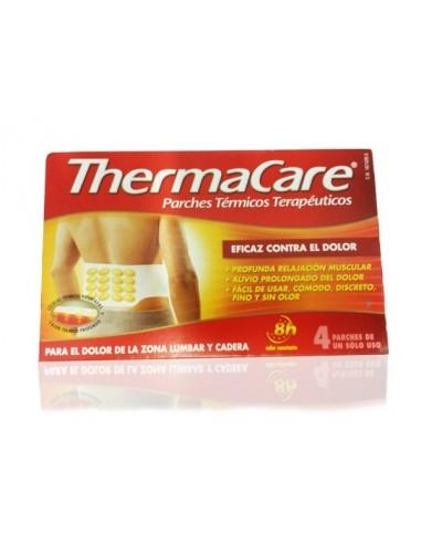 ThermaCare Parches Térmicos Terapéuticos Zona Lumbar y Cadera, 4Ud