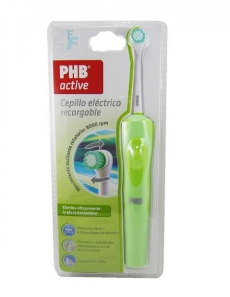PHB Active Cepillo Dental Eléctrico Recargable Color Verde, 1Ud