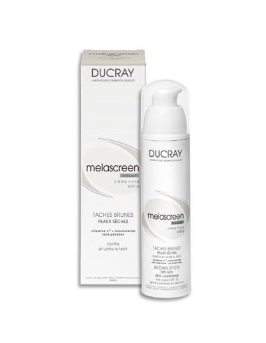 Ducray Melascreen Cuidado Antimanchas Iluminador Crema SPF15, 40ml